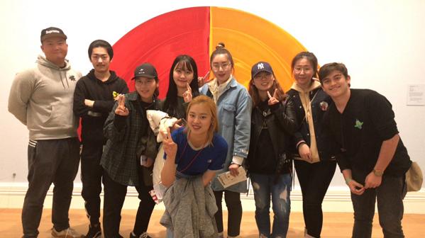 Art Gallery Visiting